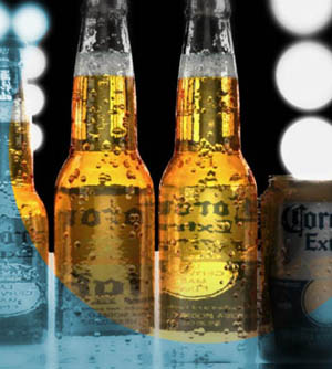 Corona Commercial shot
