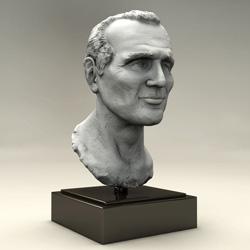 Paul Newman bust