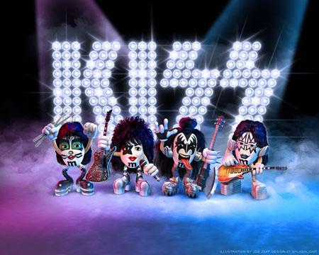 Kiss M&M's